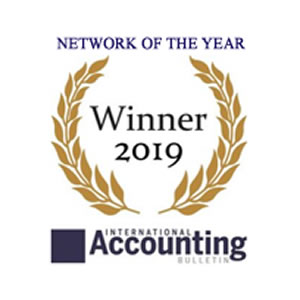 Russell Bedford International and CEO Stephen Hamlet announced winners at The Accountancy Awards 2019